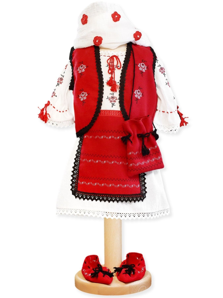 Costum traditional botez