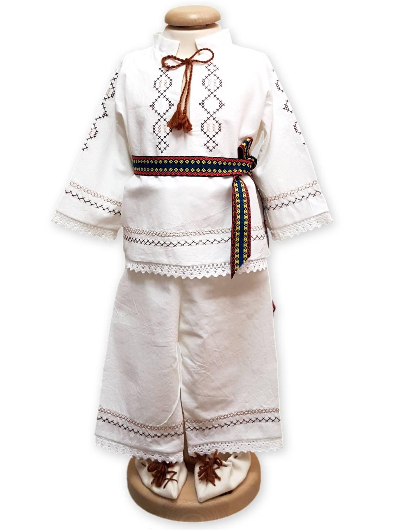 Costum popular botez