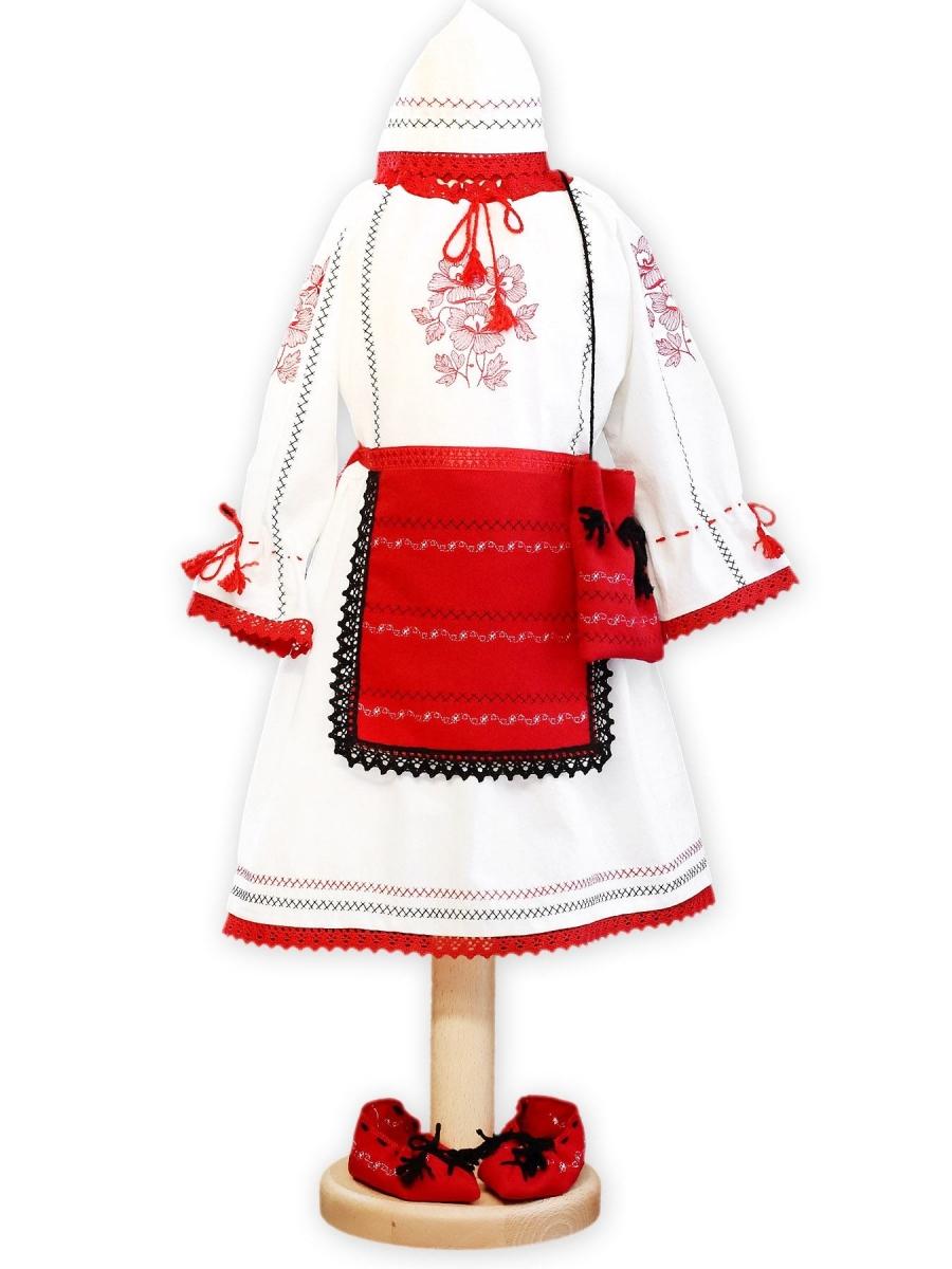 Costum popular fete