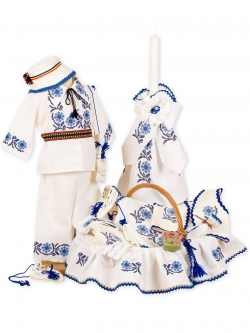 Trusou si costum botez traditional