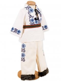 Costum botez baieti sezon rece