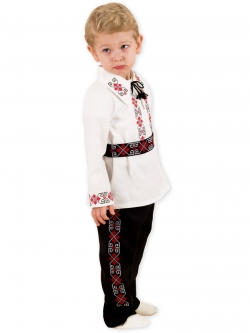 Costum botez traditional