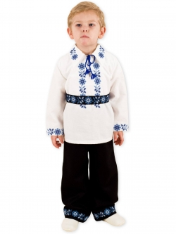 Costum botez baieti model traditional