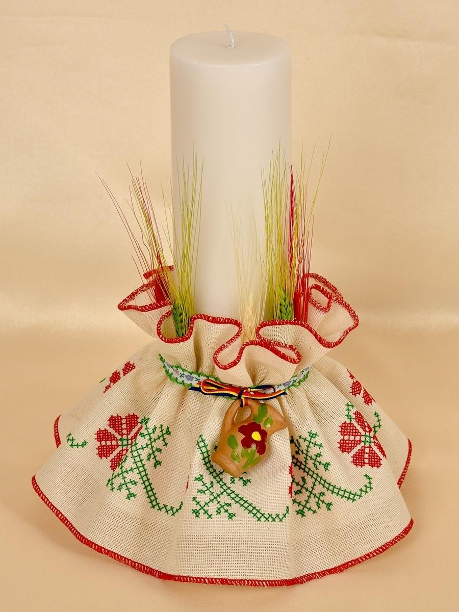 Lumanare Botez Traditional Costume Botez