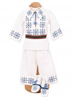 Costum botez traditional baieti stelute
