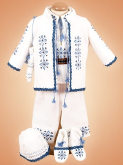 Costum botez traditional baieti stelute