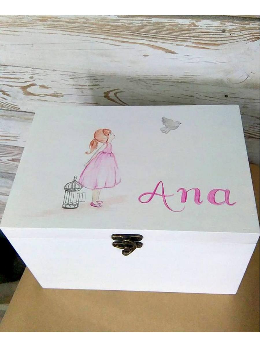 Cutie trusou pictata Anna