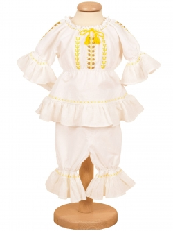 Costum botez fete
