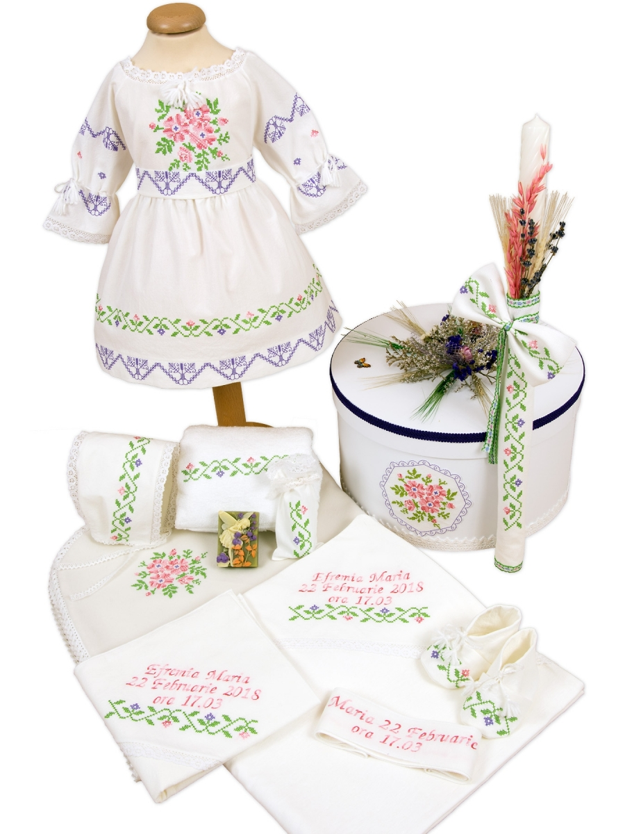 Trusou botez traditional Maria