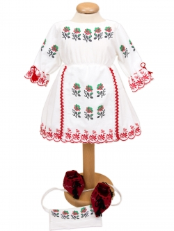 Costum botez fete traditional
