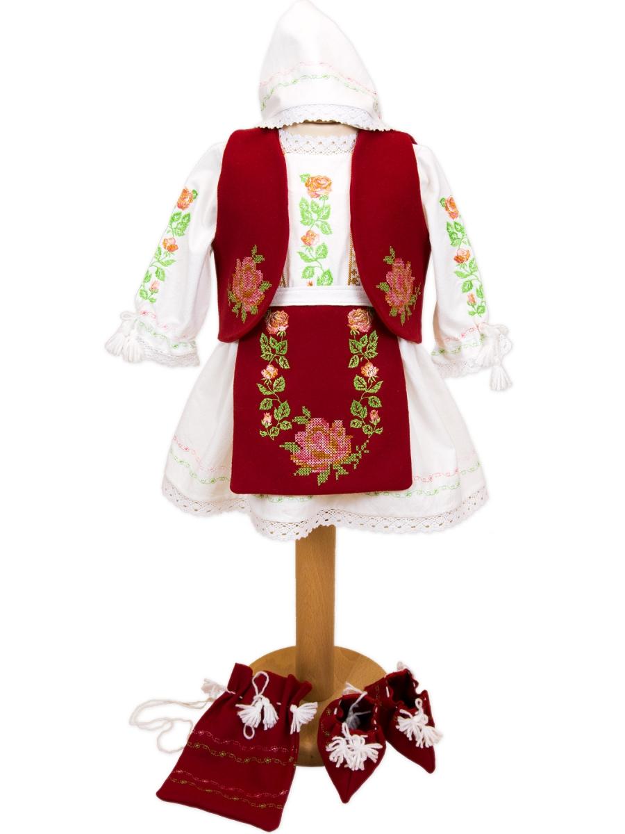 Costum popular botez zona Banat