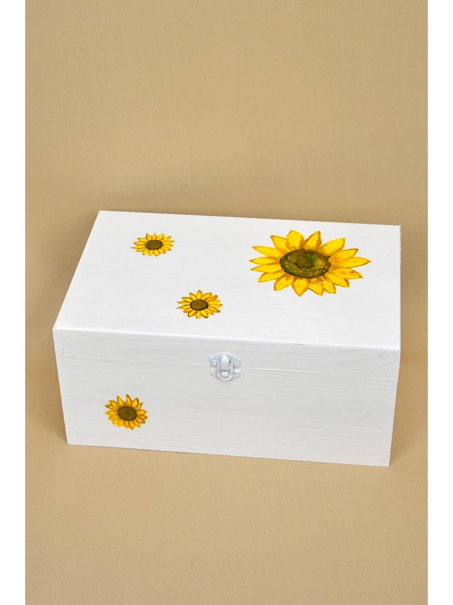 Cutie trusou pictata Floarea Soarelui